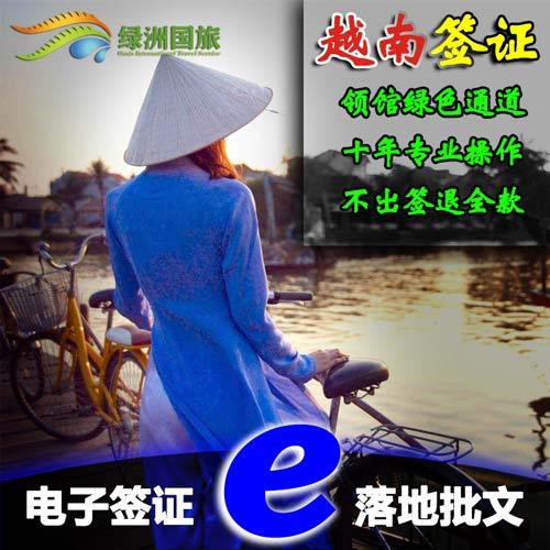越南个人旅游电子签证,落地签批文,领馆绿色通道,办理资料简单,通过率高,快捷出签!
